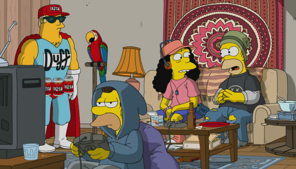 Homer and Marge deal legal weed in a Simpsons that could have gone much worse