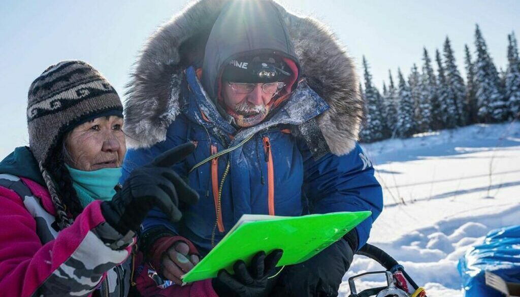 Royer feted with beaver musher mitts for Iditarod turning point